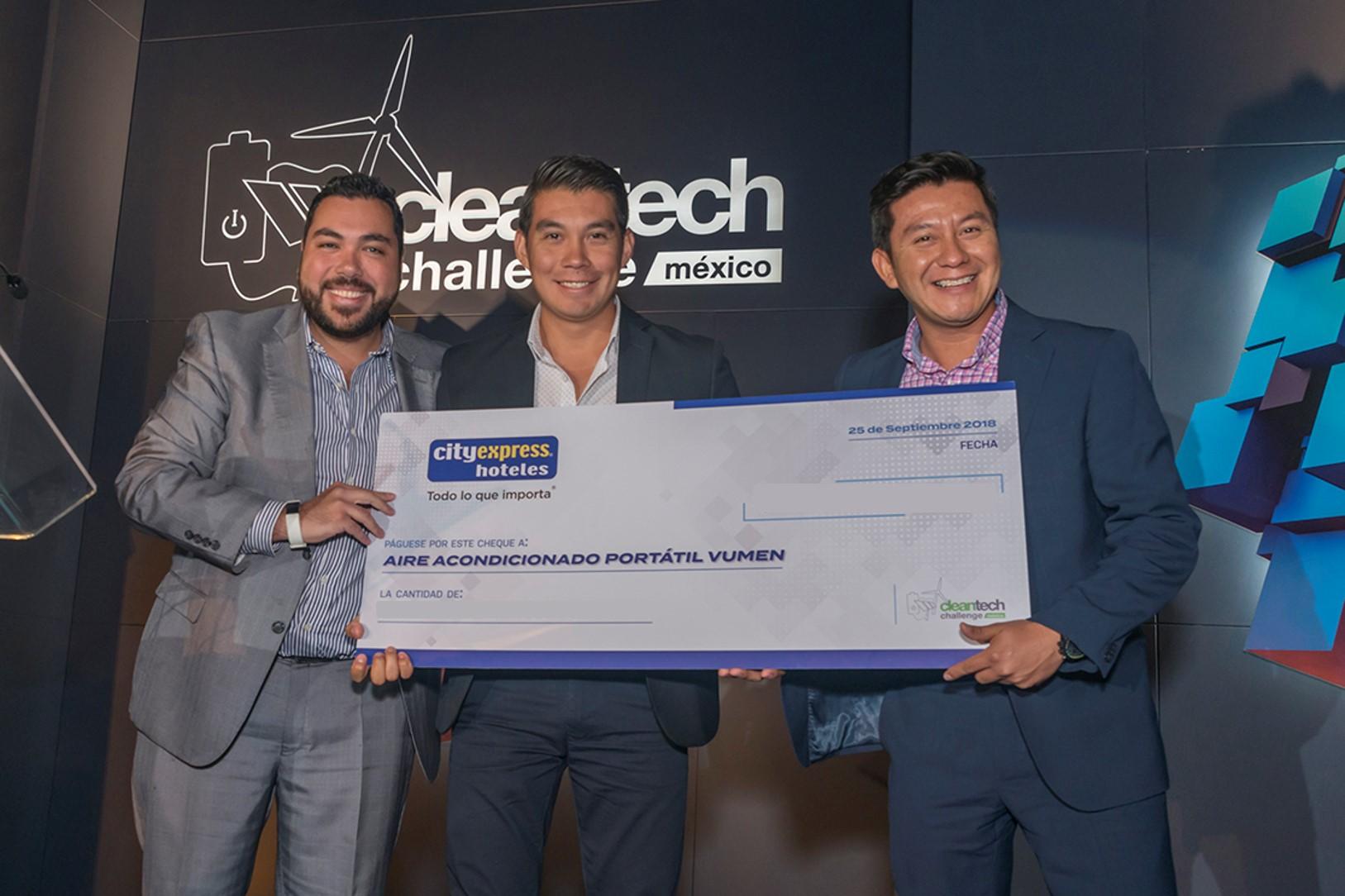 Vumen, ganador del premio City Express a la Innovación Sostenible 2018